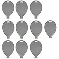 Silver Colour Plastic Balloon Shaped Weights