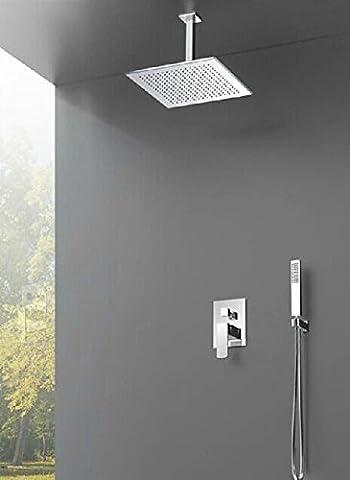 Sdkky Cuivre plafond en Kits de douche encastré murale