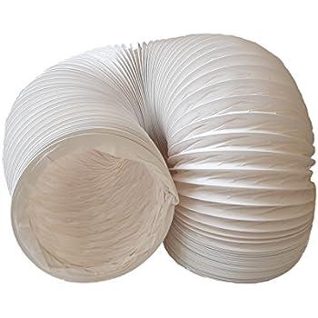 Abluftschlauch PVC flexibel Ø 150 mm, 3 m z.B. für Klimaanlagen, Wäschetrockner, Abzugshaube