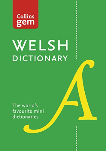 Collins Welsh Gem Dictionary: Trusted support for learning (Collins Gem) (Welsh Edition)
