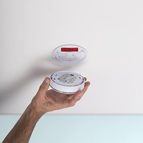 Smartwares 10-Jahres-VDS-Rauchmelder mit Lithium Batterie, weiß, RM218 - 8
