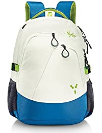 Skybags 38 Ltrs White Laptop Backpack (CREW3WHT)