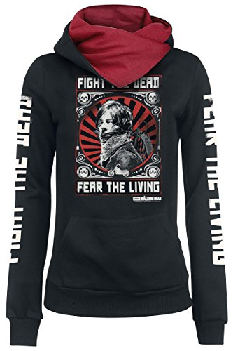 The Walking Dead Fight The Dead Felpa donna nero XS