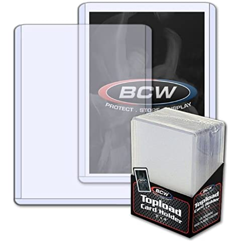 (75) BCW Standard Topload Card Holder Magic