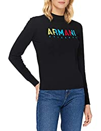 ARMANI EXCHANGE Knitted Cotton Pullover Maglione Donna