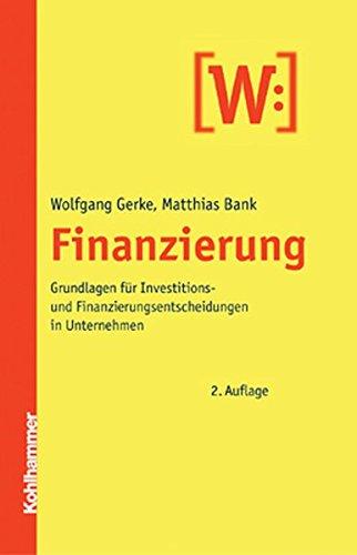 Finanzierung und Investition Buch Bestseller