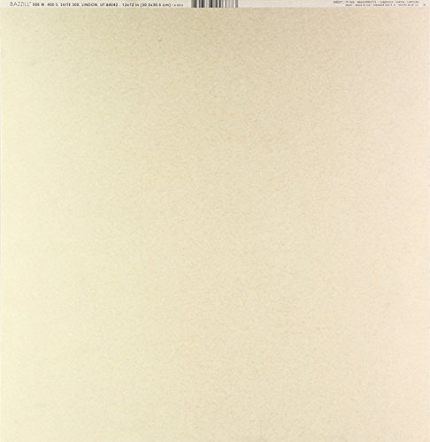 Bazzill Basics, für Scrapbooking, 25 Blatt, Classic, Kraftpapier, Braun -