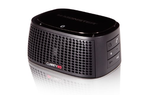Monster ClarityHD Bluetooth Wireless Speaker (Black)