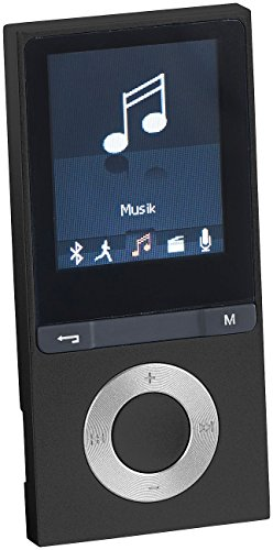 Preisvergleich Produktbild auvisio MP4 Player: MP3-Player V3 mit UKW-Radio & E-Book-Reader, microSD, Bluetooth 2.1 (Video und MP3 Player mit Bluetooth)