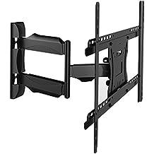 Invision® Inclinabile e Girevole TV Montaggio a Parete Staffa a Sbalzo Braccio per Samsung, Sony, (Monte Hdtv)