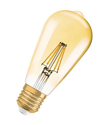 OSRAM LED Vintage Edition 1906 / LED-Lampe in Edison Form mit E27-Sockel / Nicht Dimmbar / Ersetzt 35 Watt / Klar / Warmweiß – 2700 Kelvin / 1er-Pack - 3