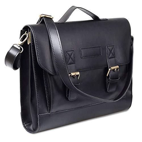 Pour X 10 Homme Marronnoir37 Xjrhb Bandoulière Briefcase Business Grand Sac 29cmcolorA À knwXN80OZP