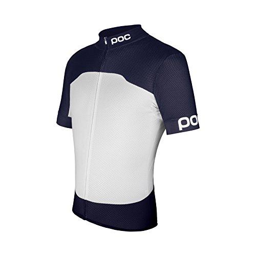 POC Herren Raceday Sport Climber Jersey XXL Navy Black/Hydrogen White