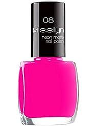 Misslyn Neon Matte Nail Polish Nr.08 fluorescent paint, 10 ml
