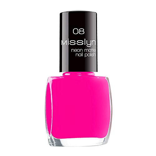 Misslyn Neon Matte Nail Polish Nr.08 fluorescent paint, 10 ml