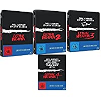 LETHAL WEAPON 1-4 (Blu-ray) Limited Steelbook
