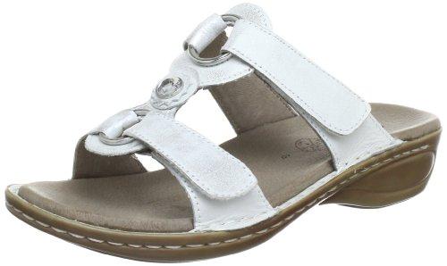 Frauen Sandalen 12 Für (ara Hawaii, Damen Pantoletten, Grau (silber 12), 42 EU (8 UK))