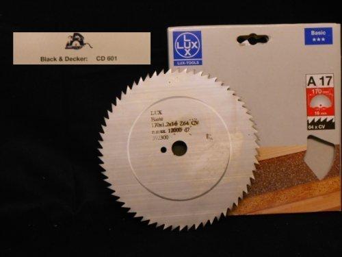 OBI LUX 392300 A17 Basic CV-Kreissägeblatt 170 x 16 mm, 64 Z