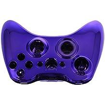 SODIAL(R) Carcasa Cromado Mando Botones Herramientas para Xbox 360