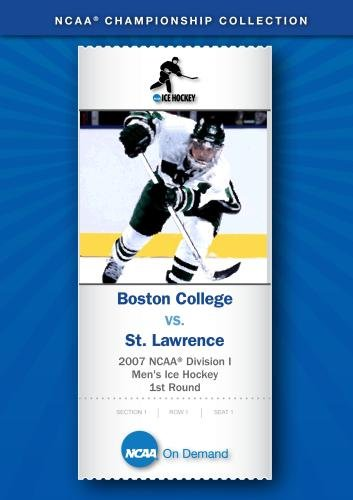 2007 NCAA(r) Division I Men's Ice Hockey 1st Round - Boston College vs. St. Lawrence (Ice College Hockey)