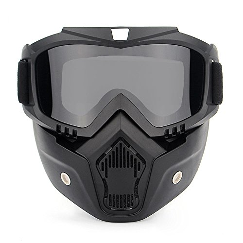 Lixada Motos Gafas UVA400 Protección Invierno