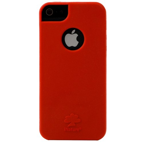 Soft top Inature Soft 5tr for Iphone 5/5S Red