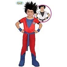 Guirca 82761 - Ninja Rojo Infantil Talla 7-9 Años