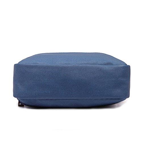Miss Lulu , Sac bandoulière pour femme taille unique Bleu