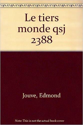 Livres Le Tiers Monde epub, pdf