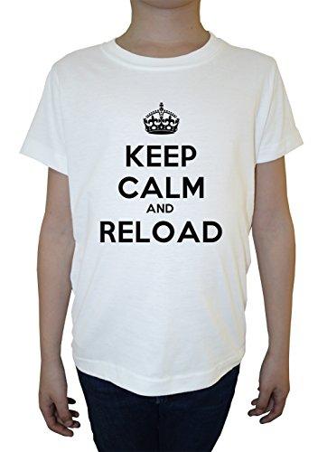 keep-calm-and-reload-blanco-algodon-nino-ninos-camiseta-manga-corta-cuello-redondo-mangas-white-boys