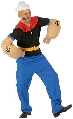 Guirca - Disfraz adulto de marinero (80376)