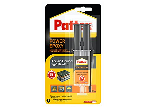 PATTEX Acciaio Liquido Siringa 35g