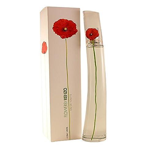 Kenzo Flower Eau De Toilette Refillable Spray for Women 100ml