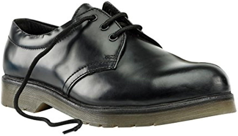 Zapatos de seguridad de acero cojín carrs talla 10