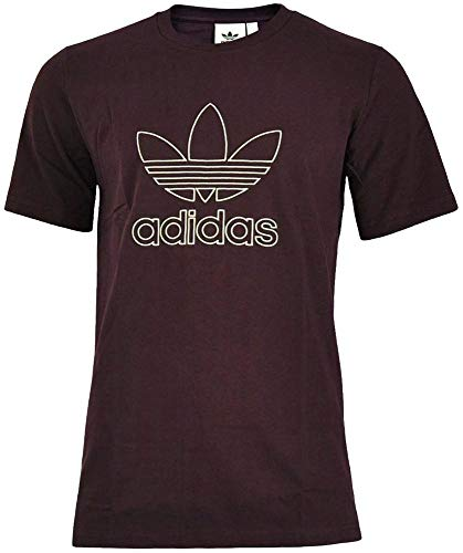 adidas T-Shirt Outline Granat XS (X-Small)