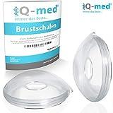 iQ-med Brustschalen   Made in Germany   Milchauffangschale und Brustwarzenschutz (2 Stück)