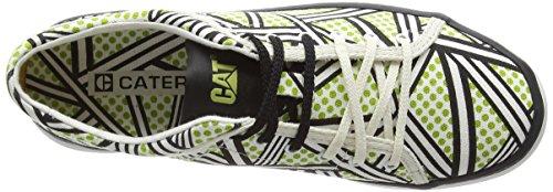 Caterpillar Mari Canvas Walala, Basket femme Multicolore - Multicolor (Lime)
