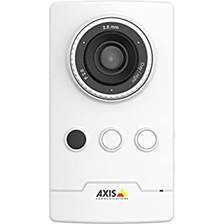AXIS 0812-002 Network Surveillance Day and Night Camera EUR Power, White