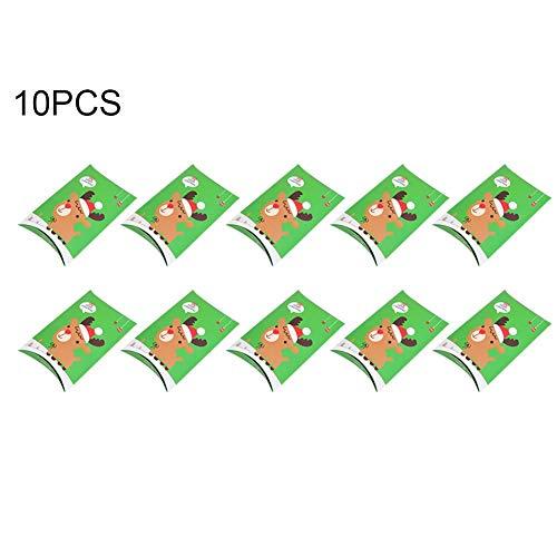 Veri-ying pezzi candy box per feste decorazioni di natale scatola per regali di natale scatola di natale contenitore per imballaggio piccolo