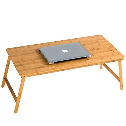 Bett Schreibtisch groß Größe Holz leicht Laptop Stand–zusammenklappbar einfach zu verstauen