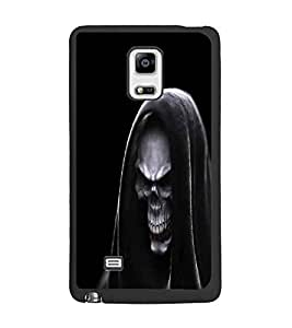 PrintDhaba Skull D-1142 Back Case Cover for SAMSUNG GALAXY NOTE 4 EDGE (Multi-Coloured)