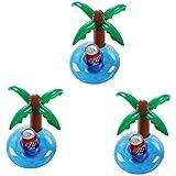 Vercrown aufblasbare Getränkehalter trinken schweben inhaber schwimmen pool party bierdeckel rosa flamingo becherhalter schwimmt floß beach party spielzeug