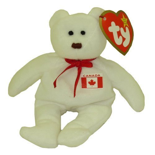 TY Teenie Beanie Babies Maple the Bear Stuffed Animal Plush Toy by Ty by Ty