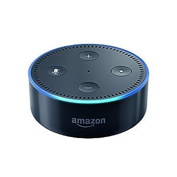 Amazon Echo Dot (2. Generation) Intelligenter Lautsprecher Mit Alexa, Schwarz 0
