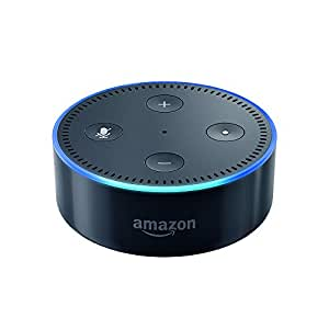 amazon echo dot 2 me g n ration enceinte connect e avec alexa noir. Black Bedroom Furniture Sets. Home Design Ideas