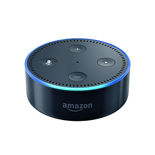 Certified Refurbished Amazon Echo Dot (2nd Generation), Black