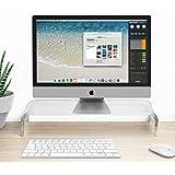 Halfter Monitorständer/Monitorerhöhung aus Acryl–52,7B x 9,33H x 10,05 cm T