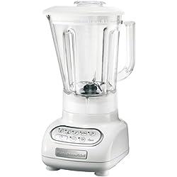 Kitchenaid 5KSB555EWH Blender Artisan Blanc