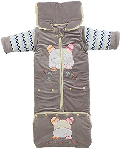 baby winterschlafsack jungen kinder winter schlafanzug langarm neugeborenes kind Baumwolle (110-130 )unisex Multicolor .Größe: 130 cm, 0-4 Jahre alte Baby)。 (grau) (Motorrad-jungen Schlafanzug)