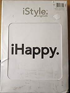 Parure de lit iHAPPY iStyle iPhone dimensions :  housse de couette 155 x 220 cm taie d'oreiller 80 x 80 cm 100 %  coton taille